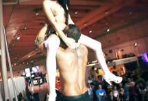 fotos da cena Depois da apresentação erótica que os dois fizeram na feira, Ana Rock e Rafa Garcia foram atrás do palco e meteram muito na salinha reservada. 2